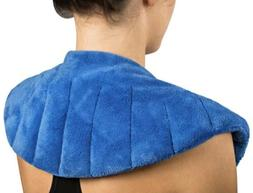 Heating Pad For Neck And Shoulders Microwavable Moist Aromat