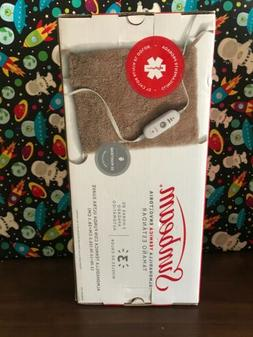 Sunbeam Heating Pad for Pain Relief | Standard Size Ultra-So