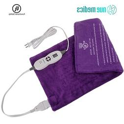 """XL Heating Pad 12""""X24"""" Moist Or Dry Heat Therapy for Back Ne"""