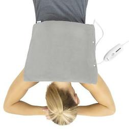 Vive Heating Pad - Electric Heated Warming Hot Wrap for Mois