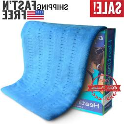 """Heating pad size 17""""x33"""" XXXL with 6 Heat Level for Back/Nec"""