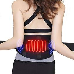 QUICK WIN Heating Waist Belt/Lower Back Heat Therapy Wrap/Ma