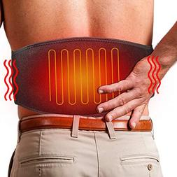 ARRIS Heating Waist Belt Wrap/Lower Back Heat Therapy Pad /