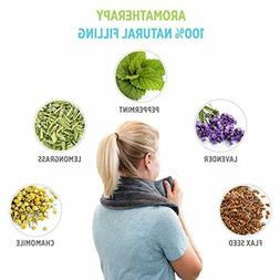 HERBAL Aromatherapy Microwavable Heating Pad Neck Shoulder P