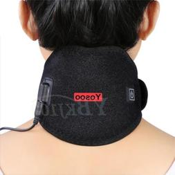 Yosoo Hot Therapy Pack Heated Neck Heating Wrap Brace Pad Pa