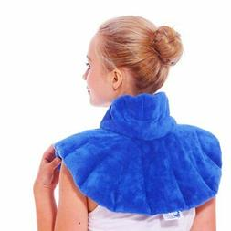 Huggaroo Neck and Shoulders Microwavable Heating Pad and Coo