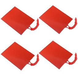 Icstation 12V 25W Flexible Silicone Rubber Heater Mat Consta