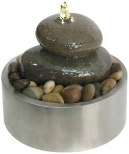 Algreen Illuminated Relaxation Outdoor Fountain with Authent