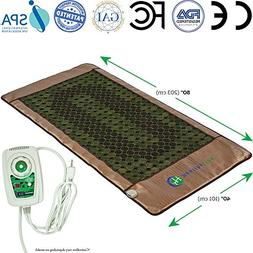 HL HEALTHYLINE - Infrared Heated Mat - 3 Therapy - Mattress