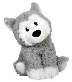 Intelex Cozy Microwaveable Plush Husky - Lavender Scented