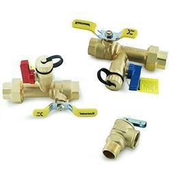 Kozyvacu 3/4-Inch IPS Isolator Tankless Water Heater Service