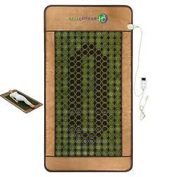 HealthyLine Natural Jade & Tourmaline Mat/Mattress Heat & En