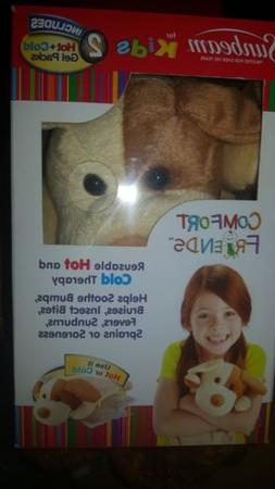 Sunbeam Kids plush Puppy Dog Comfort Friends hot/cold packs