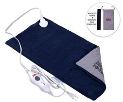 King Size Electric Heating Pad with Fast-Heating, Auto Shut