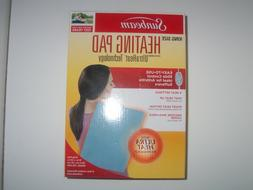 Sunbeam King Size Heating Pad Ultrheat Technology Slide Cont