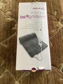 Geniani King Size Heating Pad, XL, Microplush Fabric