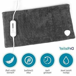 king size large heating pad moist or