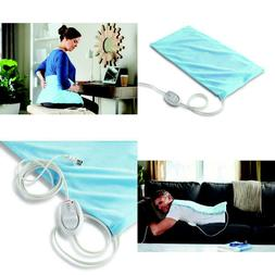 Sunbeam King-Size Moist/Dry Heating Pad With Ultraheat Techn