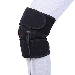 Knee Heating Pad Wrap Heated Knee Brace, Hot Therapy Compres