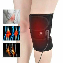 Knee Relief Pain Electric Heated Pad Warmer Heating Arthriti