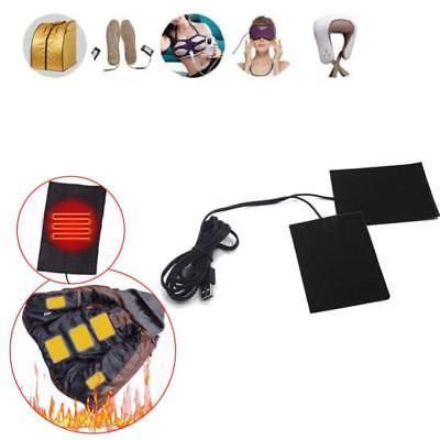 1 2pcs electric clothes usb heating pad