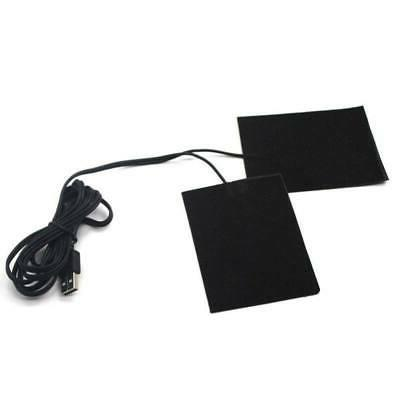 1/2PCS USB Heating Pad Electric Cloth Heater