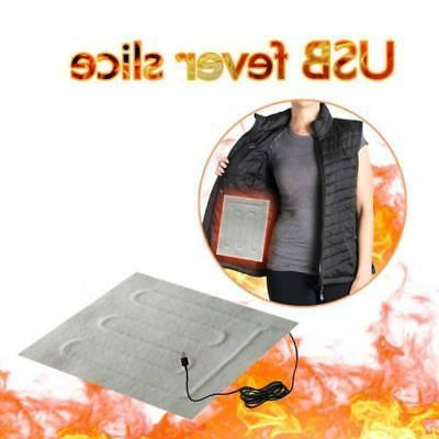 1 pc 5v usb electric cloth heater