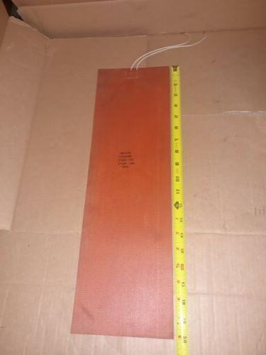 120v 600w 6 x 20 silicone rubber