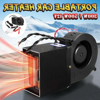12v 300 500w portable car auto heating