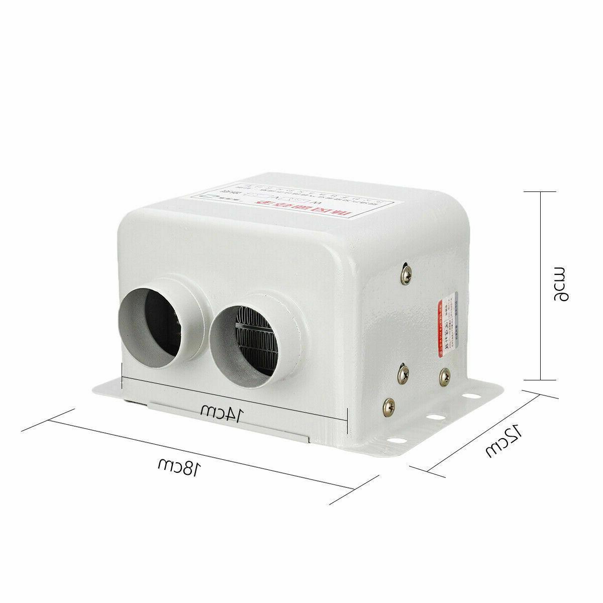 12V 600W White Port PTC Heating Car Heater Heating