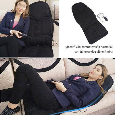 Heated Electric Car Back Neck Lumbar Full Body Massager Seat