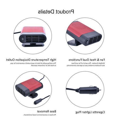 12V Heater Hot Cooling Defroster Purifier