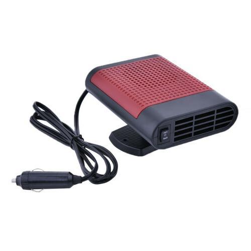 12V Portable Hot Cooling Fan Windshield Defroster Demister Purifier