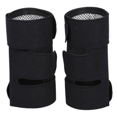 2pcs Self-heating Tourmaline Pad Magnetic Therapy Knee Suppo