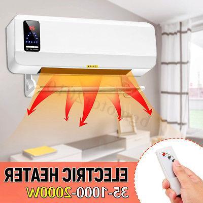 2000w wall mounted heater timing waterproof space