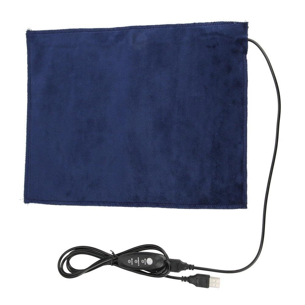 24x30cm USB Electric Cloth <font><b>Pad</b></font> Element Clothes Pet Warmer Degree