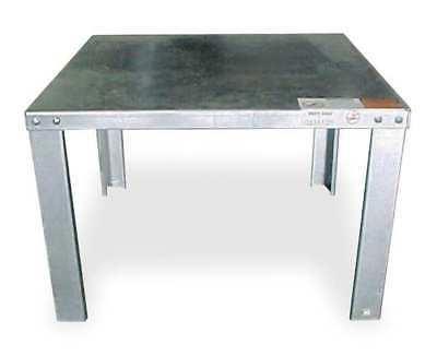 3VU62 Water Heater Stand, 22x22x16, Steel