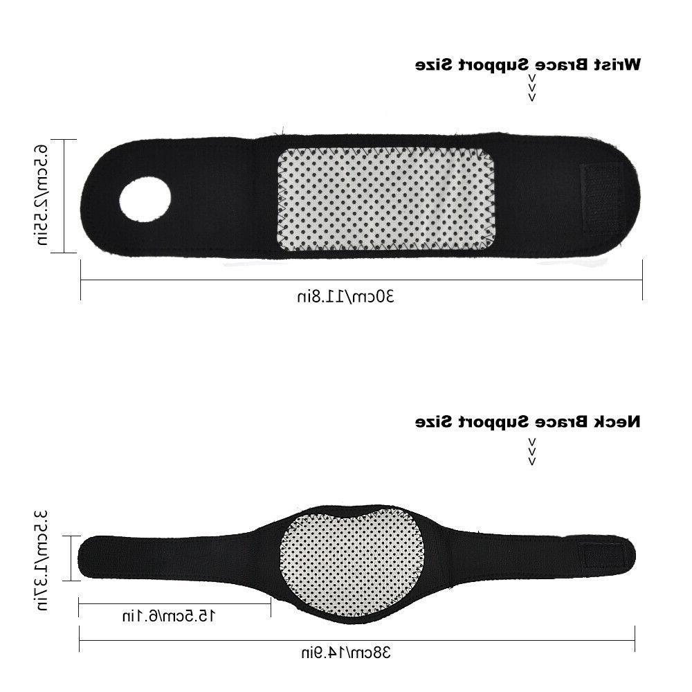 3x Knee Wrist Protector Belt