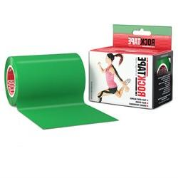 RockTape 4 Solid Active Recovery Kinesiology Tape - Green