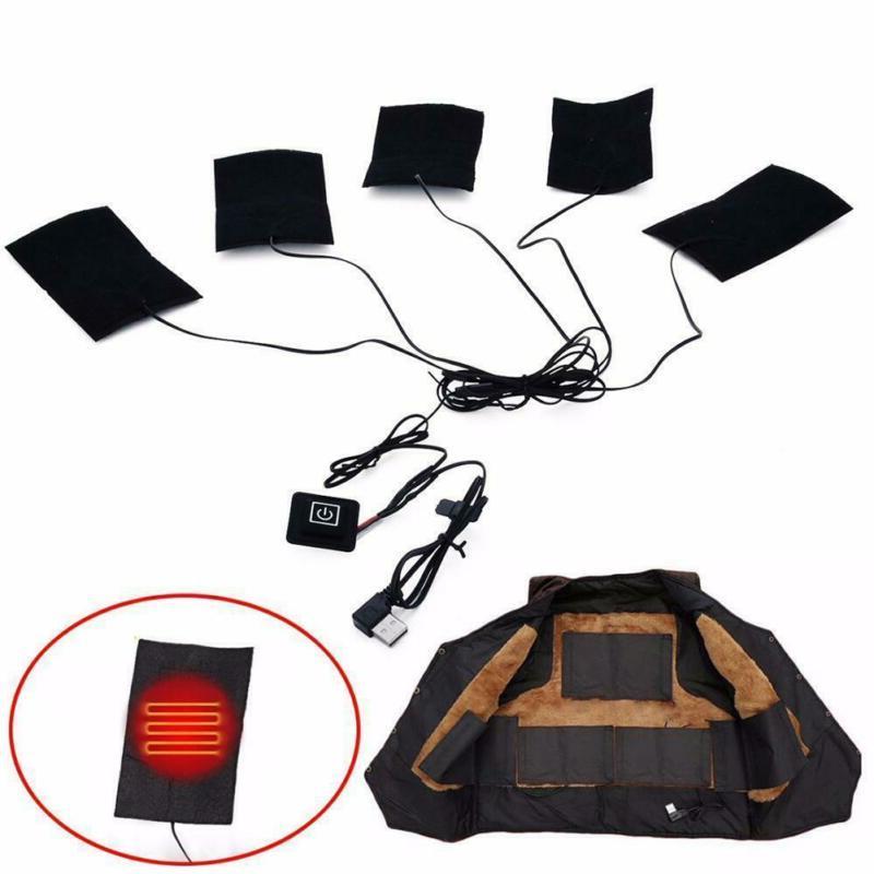 5V USB Charging Heating Heating Pad Electric Heating A