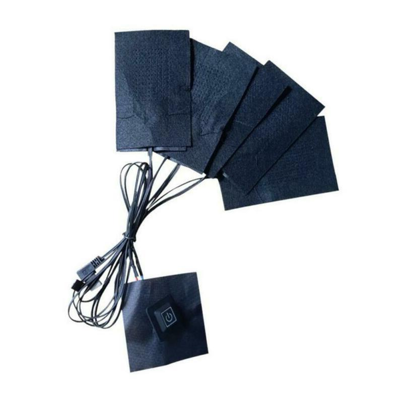 5V USB Charging Heating Pad Carbon Fiber A