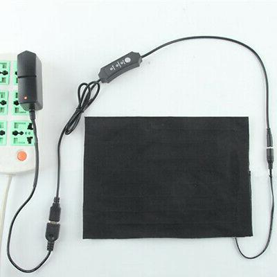 5V USB Heating Pad Gears Temperature Thermal Jacket