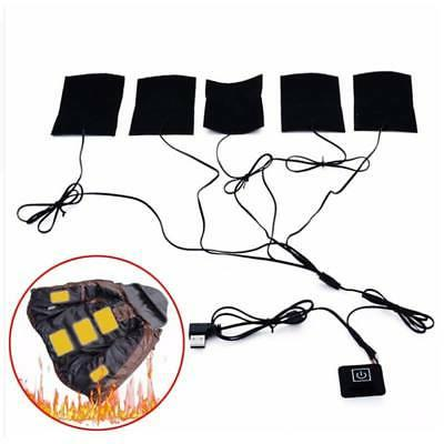Electric Heating Vest Heated Pad With 5V 2A USB Charger Clot