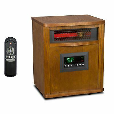 Lifesmart 6 Element 1500W Portable Infrared Quartz Mica Elec