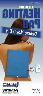 Bilt-Rite Mastex Health 800-220 Deluxe Moist/Dry Heat Pad, B