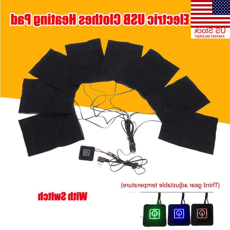8in1 USB Heater Sheet Adjustable Heating Warmer