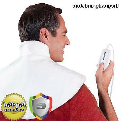 Dr. Bob's - Neck Wrap Heating Pad - Doctor Designed for Ther