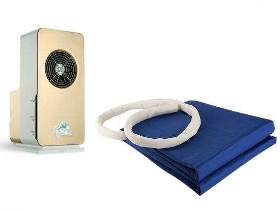 Cool Buddy Air Conditioned/Heated Mattress Pad