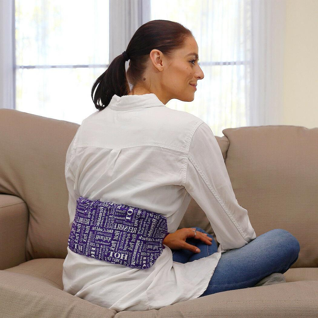 All Natural Aromatherapy Heating Pads Lower Back & Abdomen Pain