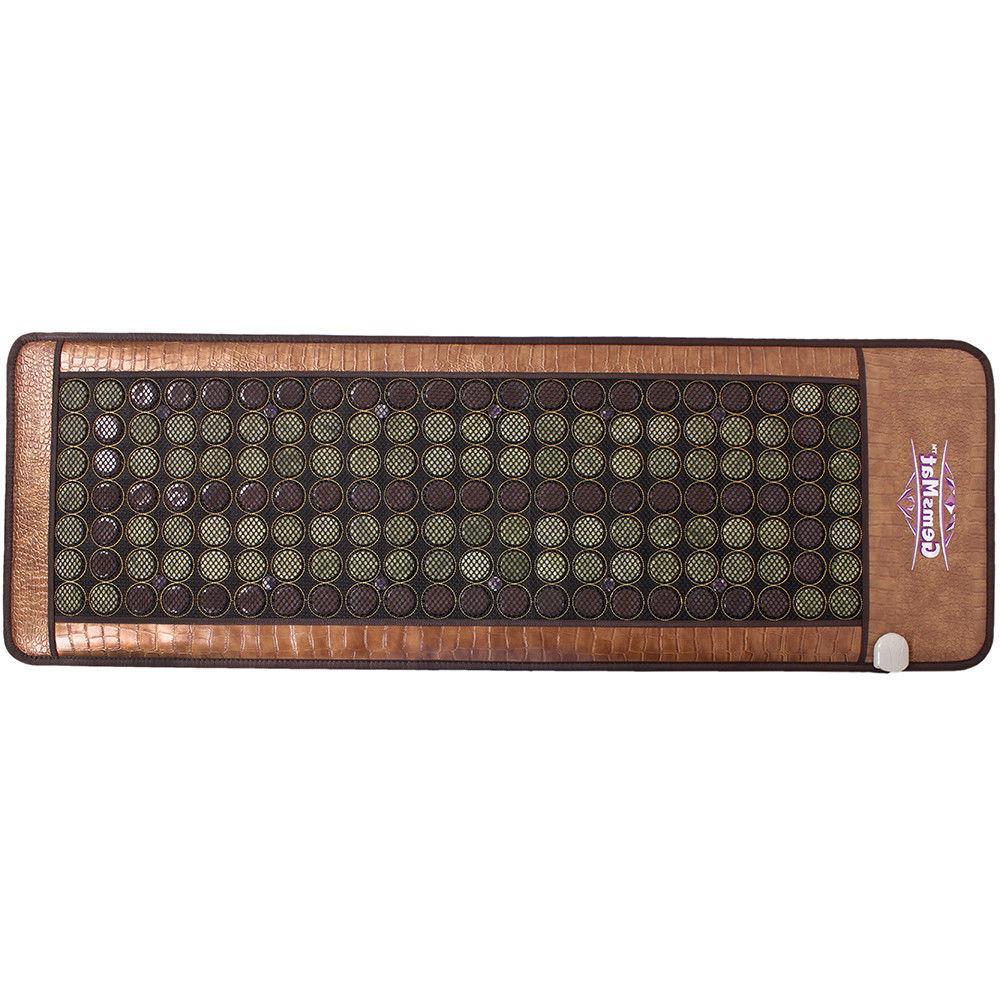 """GemsMat Amethyst Jade Heating Mat 72"""" x FAR Pad"""